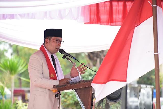 Perkuat Persatuan Jelang HUT RI ke 75, Gubernur Jabar Pimpin Safari Kebinekaan ke Kab. Indramayu