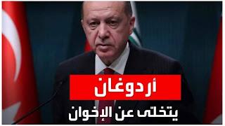 أردوغان يتخلى بصفة نهاية على الوقوف مع الإخوان..