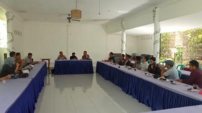 FJLT Lombok Timur Gelar Raker Perdana