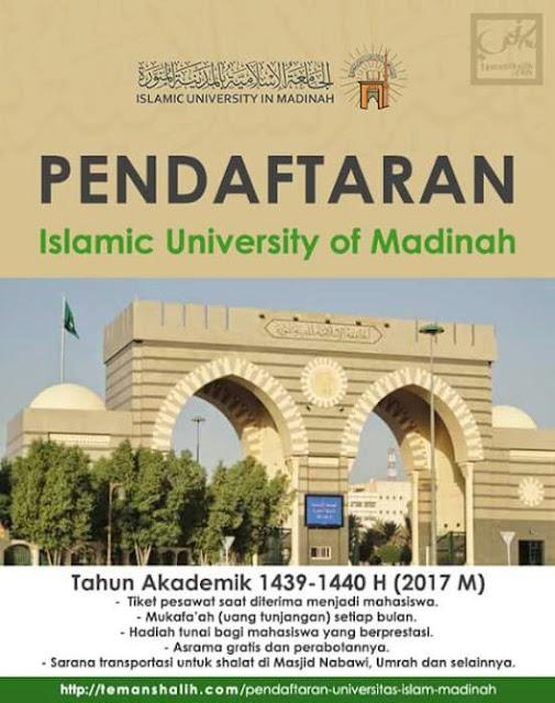 informasi beasiswa universitas madinah