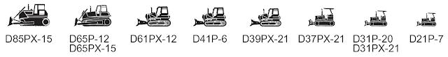 Swamp bulldozer (40-225 HP)