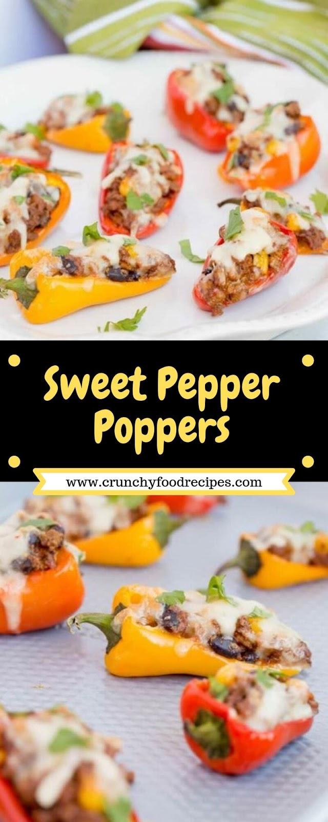 Sweet Pepper Poppers