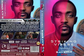[SERIE NETFLIX] BLACK MIRROR – TEMPORADA 5 [COVER DVD]