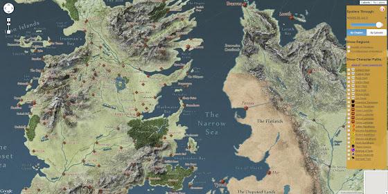 Landkartenblog: A Song of Ice and Fire - DIe interaktive ...  Landkartenblog:...