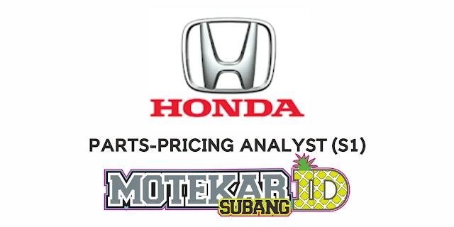 Info Lowongan Kerja Staff PT Honda Prospect Motor (HPM) Maret 2021
