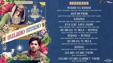 कंजूस Kanjoos Lyrics In Hindi - Gulabo Sitabo