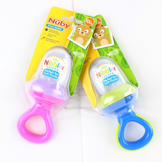 Nuby Nibbler Mesh Feeder  |  Lusterhood