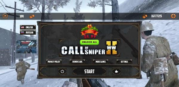 Call of Sniper WW2: Final Battleground War Games 3.1.7 | Mod Money
