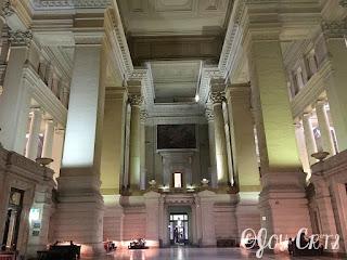 La salle de pas perdus, palais de justice de Bruxelles