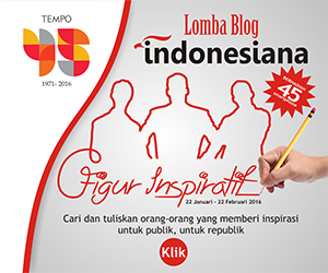 Lomba BLOG Indonesiana TEMPO