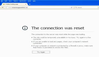 Tidak Bisa Buka URL Blog di Mozilla Firefox