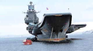 Kapal Induk Admiral Kuznetsov