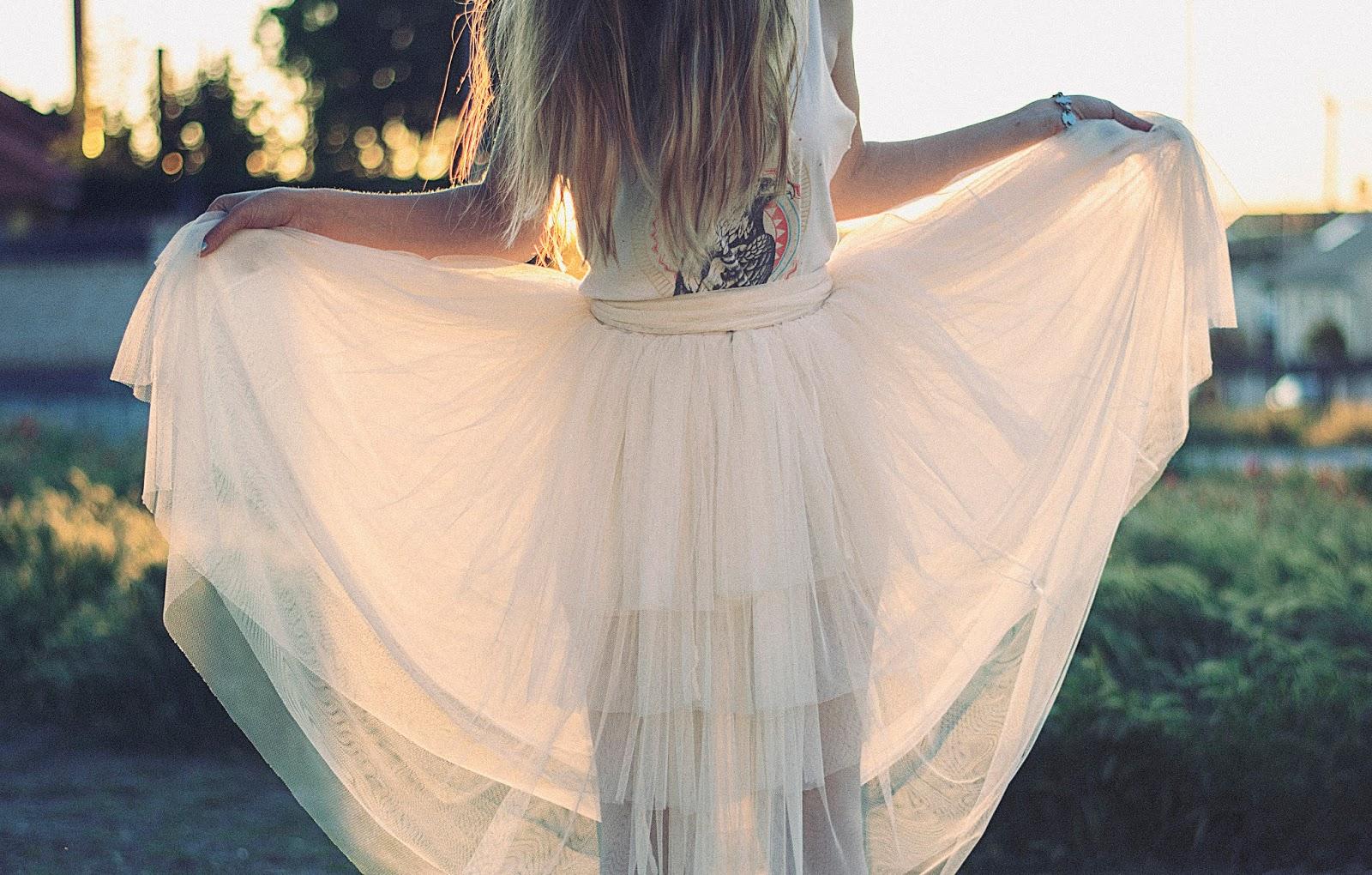 falda de tul precio
