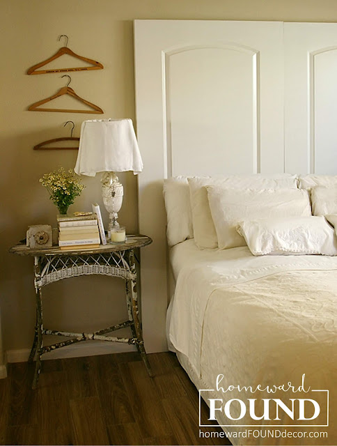 repurposing, upcycling, furniture, headboards, bedrooms, home decor, white, neutrals, beach style, farmhouse style, use what you have decorating, diy, diy home decor