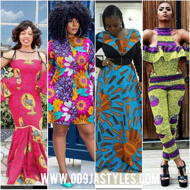 African Print Dresses and New Ankara Styles Trending in 2018