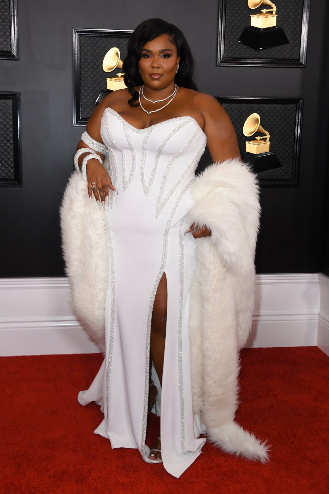 Lizzo In Atelier Versace – 2020 Grammy Awards