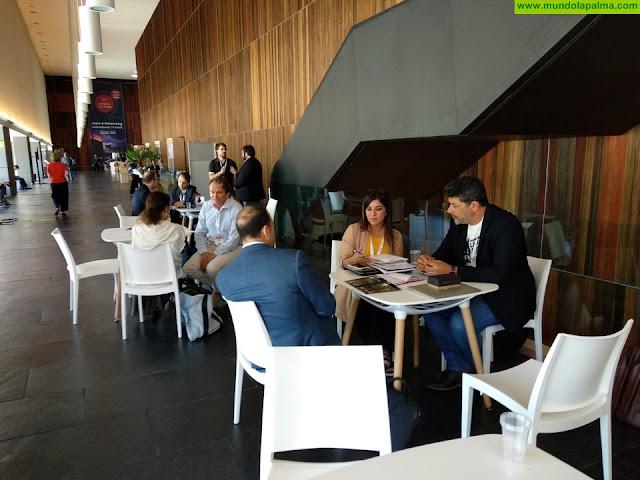 La Palma Film Commission asiste al mercado televisivo 'Conecta Fiction' para promocionar la isla y los contenidos de isLABentura