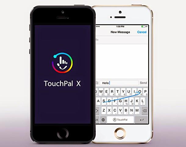 TouchPal 觸寶輸入法展示 iOS 8 智慧滑動輸入