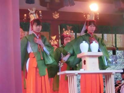 鶴岡八幡宮・神楽始式