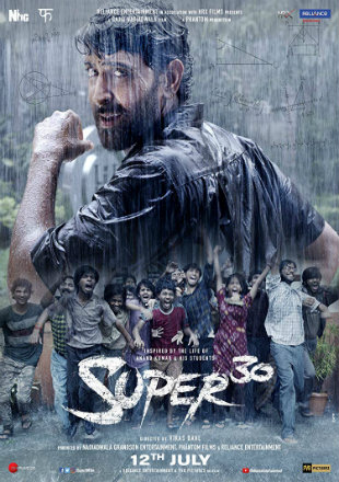Super 30 2019 Full Hindi Movie Download HDRip 720p
