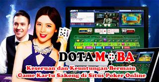 Keseruan dan Keuntungan Bermain Game Kartu Sakong di Situs Poker Online