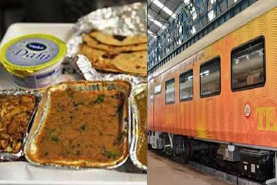 Tejas Express food