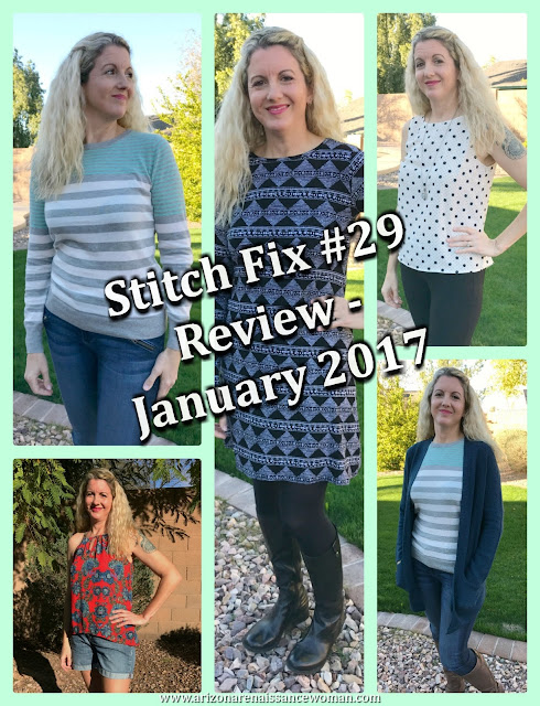 Stitch Fix #29 Review - January 2017