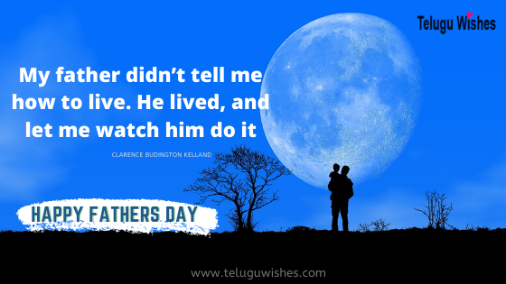 Fathers day wishes images in English