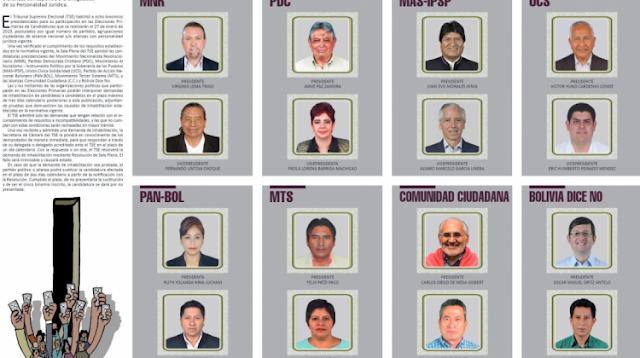 Conozca los programas de gobierno de las nueve organizaciones para las Elecciones Generales