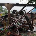 Peristiwa Angin Puting Beliung Di Desa Sanglar,Menyisakan Korban jiwa dan Material