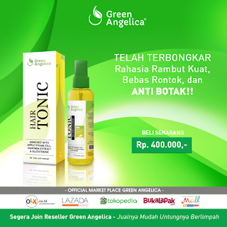 hair tonic, hair tonic green angelica, hair tonic paling bagus