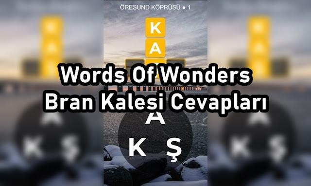 Words Of Wonders Bran Kalesi Cevaplari
