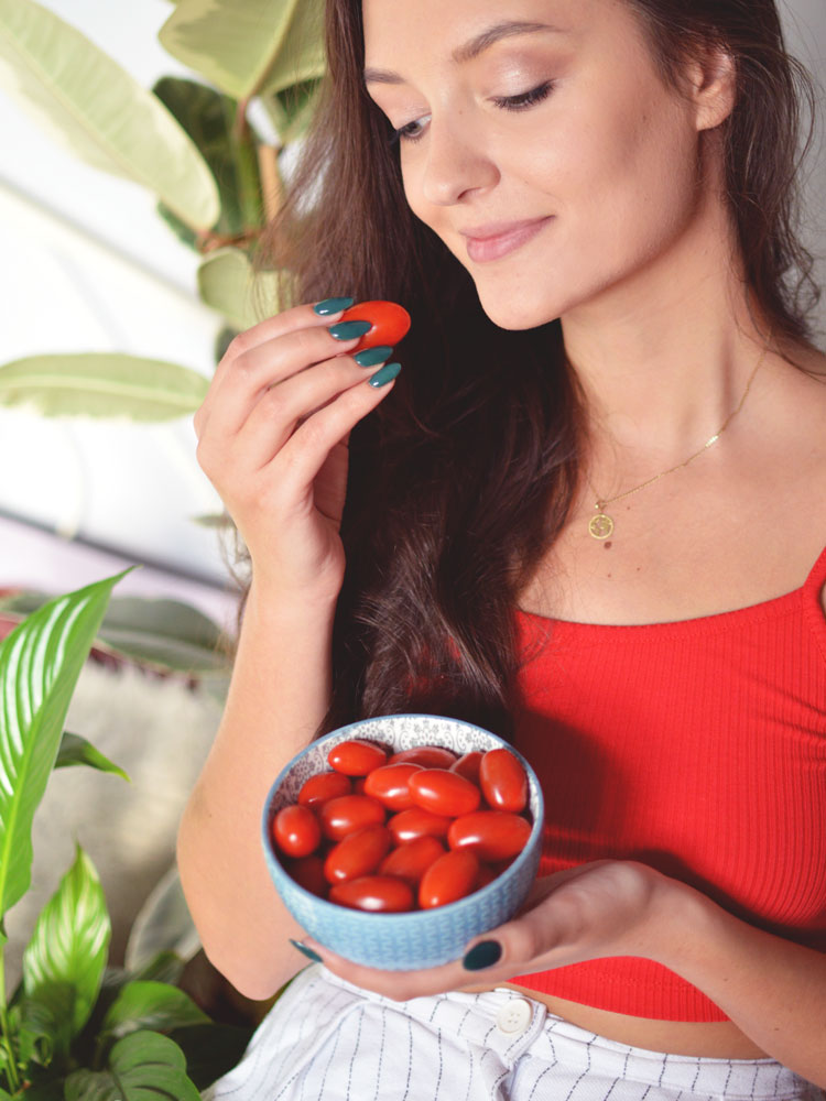 zdrowa dieta a włosy i skóra