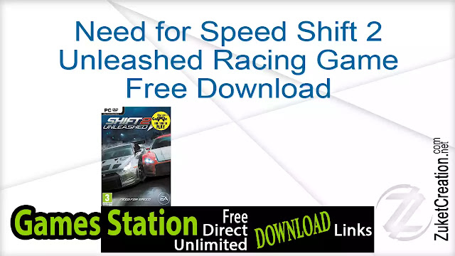 Need for Speed Shift 2 Unleashed Racing Game Free Download