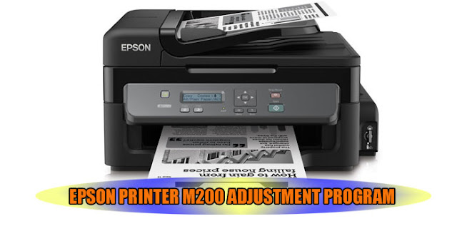 EPSON M200 PRINTER ADJUSTMENT PROGRAM