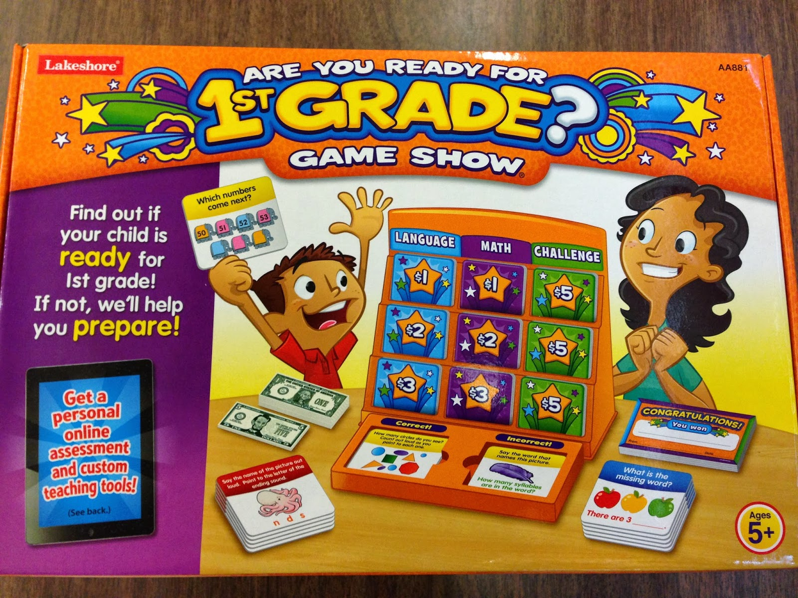 Are You Ready for 1st Grade?, Lakeshore Learning
