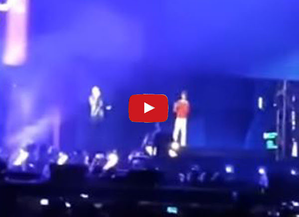 Aparece un holograma de Juan Gabriel cantando junto a Juanes