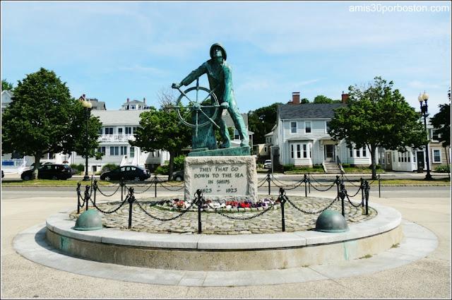 Monumento a los Pescadores de Gloucester, Massachusetts