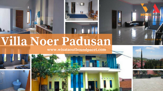 villa noer padusan wisata outbound pacet improve vision