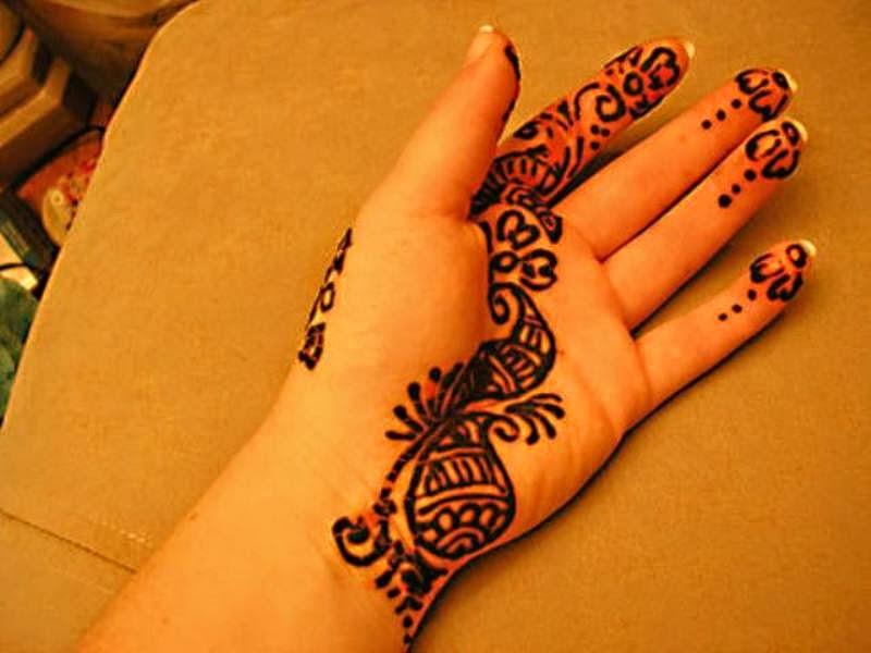 Gambar henna untuk anak model masa kini