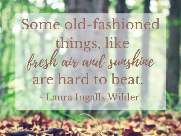 Laura Ingalls Wilder Old-Fashioned Quote Printable