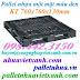 Pallet nhựa 760x760x130mm màu đen