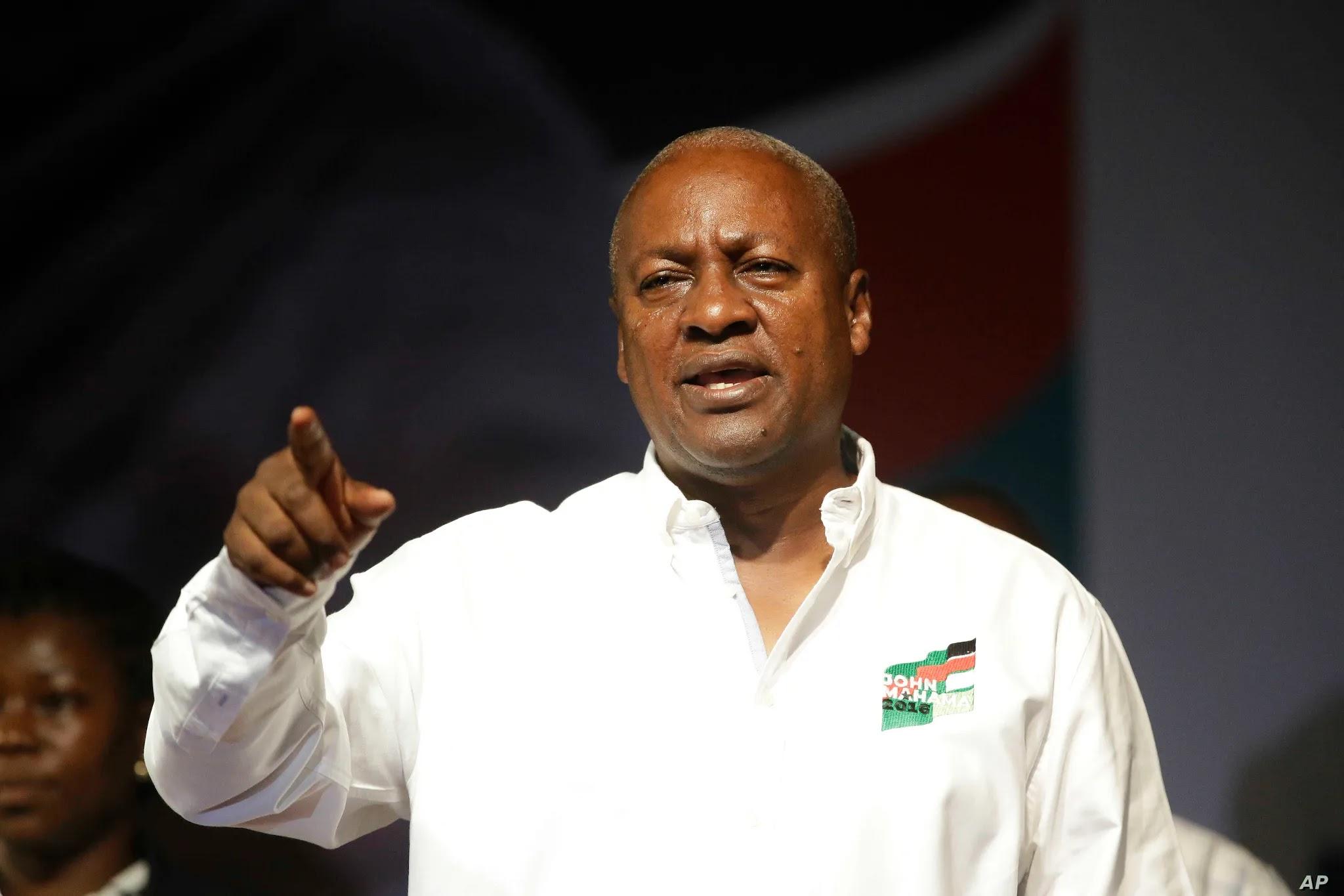 I Have Not Congratulated Anybody - John Mahama