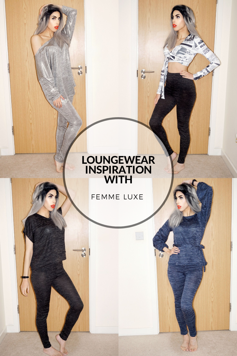 LOUNGEWEAR INSPIRATION WITH FEMME LUXE