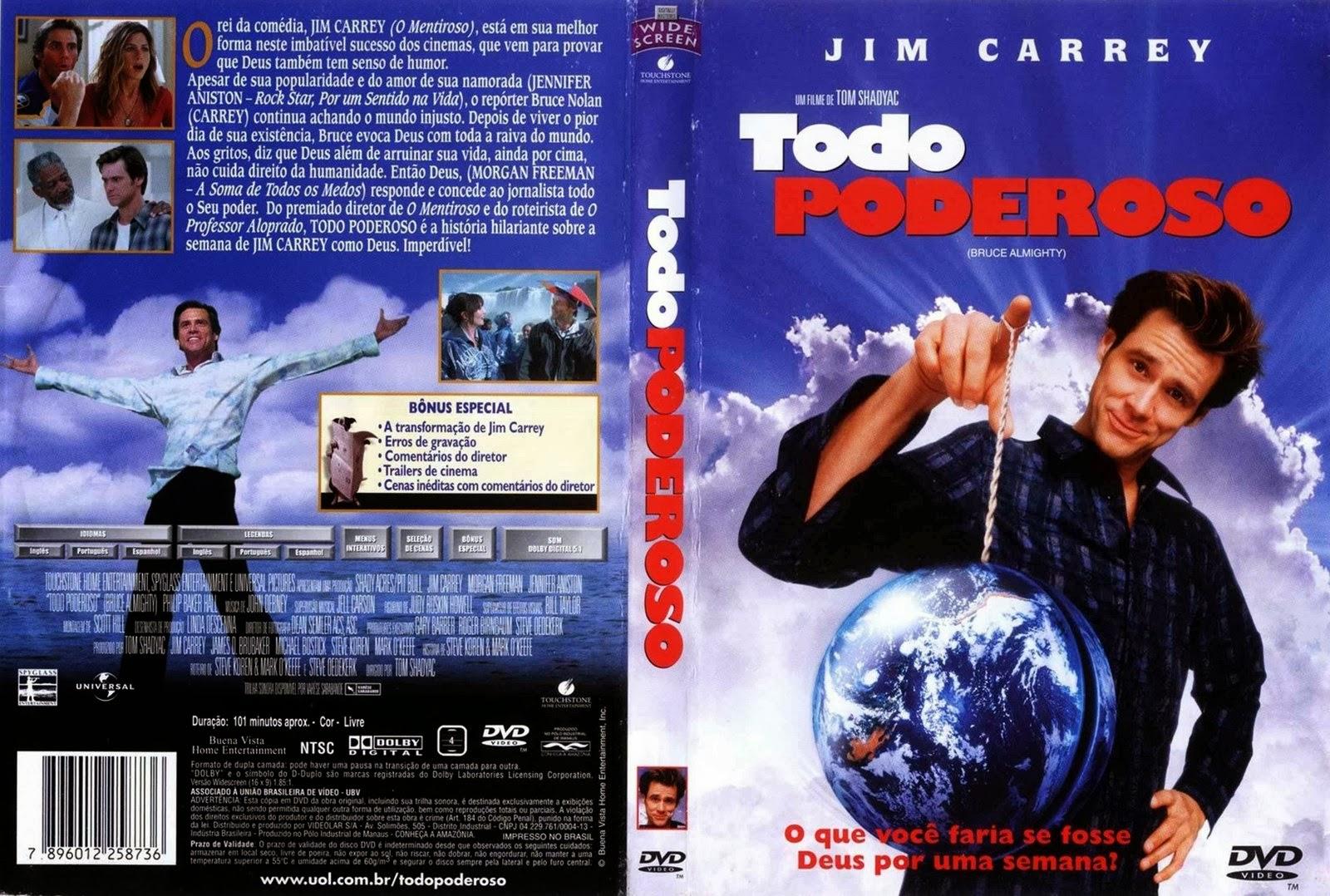 Todo Poderoso DVD Capa