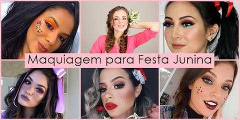 Mais de 30 Sugestões de Maquiagem para festa junina