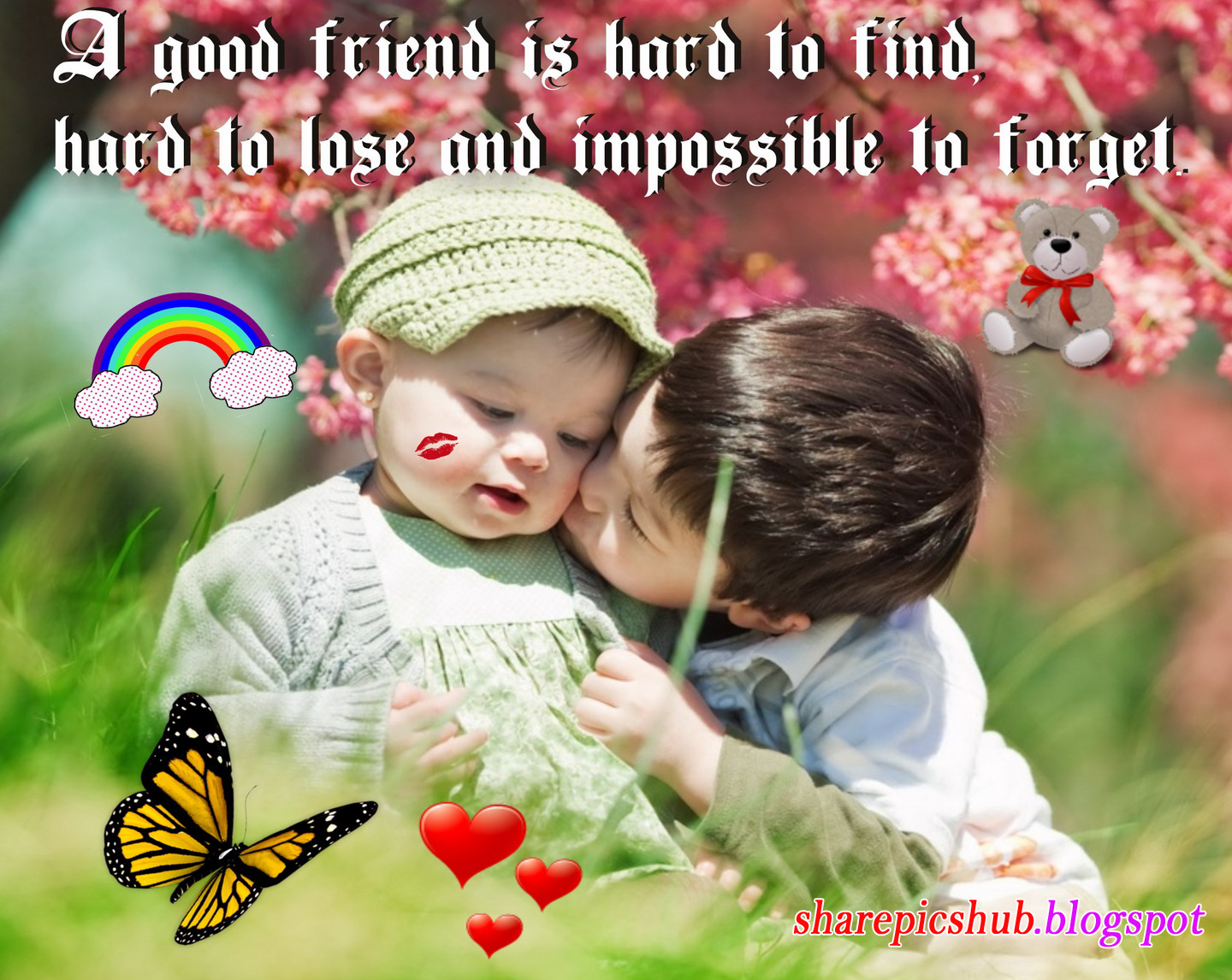 Beautiful Friendship Quote Wallpaper For Facebook | A Good ...
