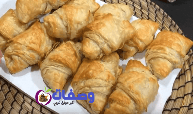 كرواسون من غير دقيق  فاطمه ابو حاتي