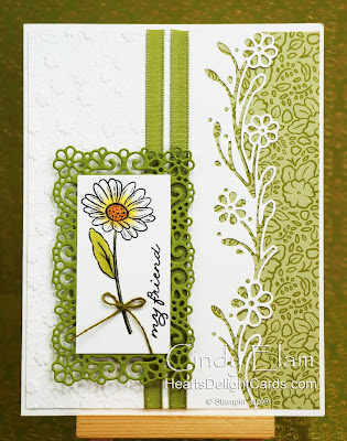 Heart's Delight Cards, Ornate Garden Suite, Friend, Stampin' Up!, 2020-2021 Annual Catalog