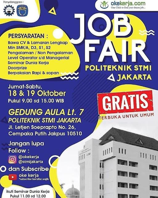 Job Fair Jakarta Oktober